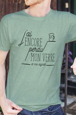 T-shirt Homme J'ai perdu ma dignité