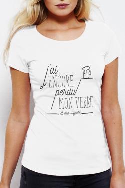T-shirt Femme J'ai perdu ma dignité