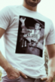 T-shirt blanc Homme French Apero