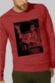 Sweat rouge Homme French Apero