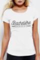 T-shirt blanc Femme Bachelière