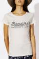 T-shirt crème chiné Femme Bachelière
