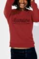 Sweat rouge Femme Bachelière