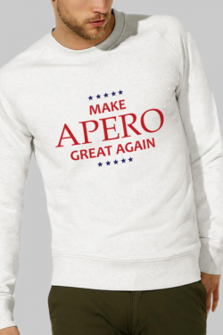 Sweat Homme Make Apero great again