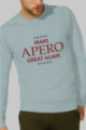 Sweat bleu ciel Homme Make Apero great again