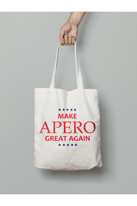 Tote bag Make Apero great again