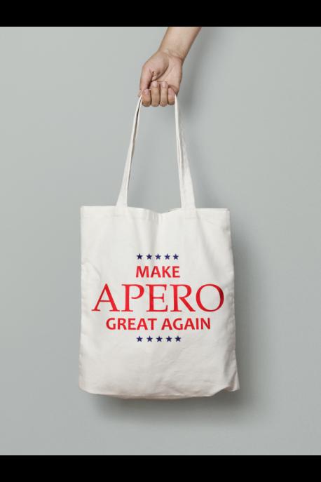 Tote bag Make Apero great again