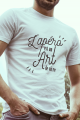 T-shirt Blanc Homme Apero est un Art de Vivre