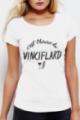 T-shirt blanc Femme Vinciflard