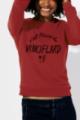 Sweat rouge Femme Vinciflard
