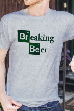 T-shirt Homme Breaking Beer