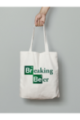 Tote bag Breaking Beer