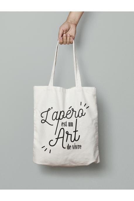 Tote bag Apero est un Art de Vivre