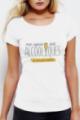 T-shirt Femme Blanc Copines sont alcooliques