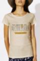 T-shirt Femme Beige chiné Copines sont alcooliques