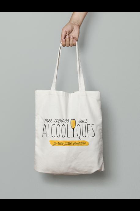 Tote Bag Copines sont alcooliques
