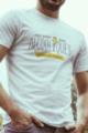 T-shirt blanc Homme Potes Alcooliques