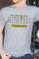T-shirt gris chiné Homme Potes Alcooliques