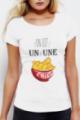T-shirt Femme Un ou une chips