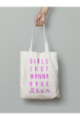 Tote Bag Girls just wanna have Rhum