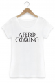 T-shirt Femme Apero is coming
