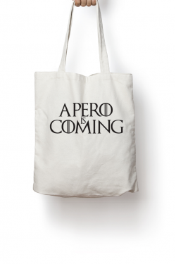 Tote bag Apero is coming