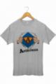 T-shirt Homme Gris chiné Aperoman