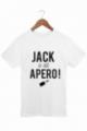 T-shirt Homme Blanc Jack a dit