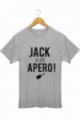T-shirt Homme Gris Jack a dit