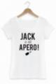 T-shirt Femme Blanc Jack a dit