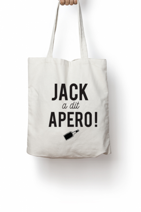 Tote bag Jack a dit