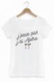 T-shirt J'peux pas j'ai apéo - Femme - Blanc