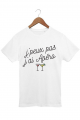 T-shirt J'peux pas j'ai apéro - Homme - Blanc