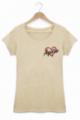 Tee shirt Femme Love Apéro - Beige