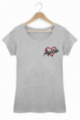 Tshirt Femme Love Apéro - Gris
