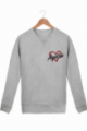 Sweat Homme Love Apéro - Gris