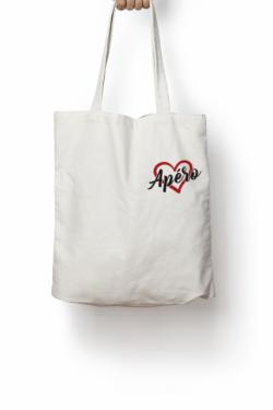 Tote bag Love Apéro