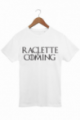 T-shirt Homme Raclette is coming - Blanc