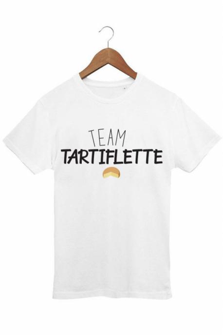 T-shirt Homme Team Tartiflette - Blanc