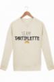 Sweat Homme Team Tartiflette - Crème