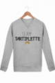 Sweat Homme Team Tartiflette - Gris