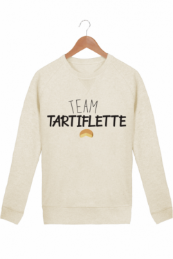 Sweat Femme Team Tartiflette - Crème