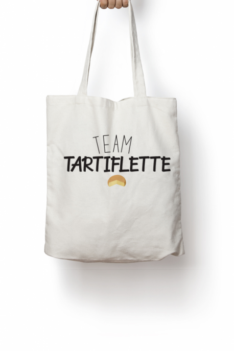 Tote bag Team Tartiflette