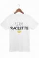 T-shirt Homme Team Raclette - Blanc