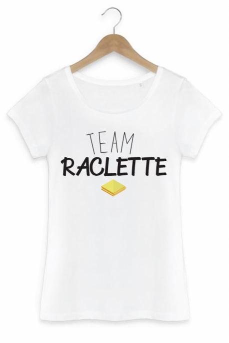 T-shirt Femme Team Raclette - Blanc