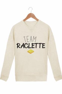 Sweat Femme Team Raclette - Crème