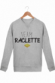 Sweat Femme Team Raclette - Gris