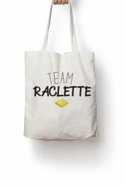 Tote bag Team Raclette