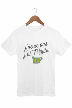 T-shirt Homme J'peux pas j'ai mojito