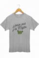 T-shirt Homme J'peux pas j'ai mojito - Gris